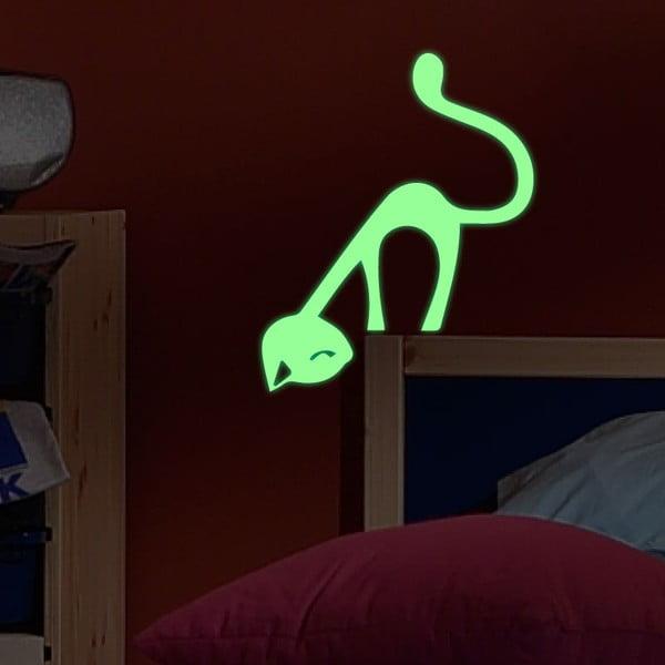 Naklejka świecąca Fanastick Cute Cat