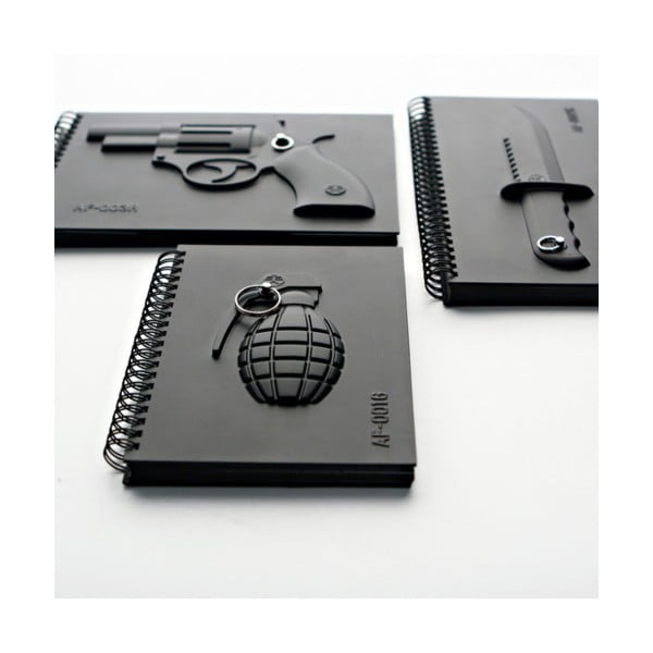 Notes wojskowy Pistolet