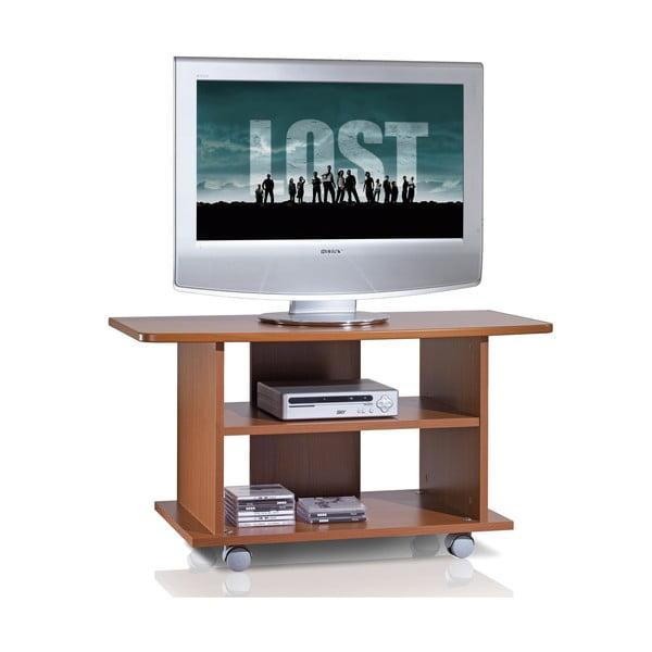 Stolik telewizyjny na kółkach TV Cabinet, czereśnia