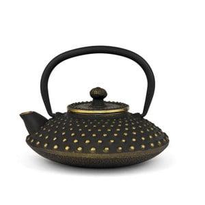 Czajnik Ming, 0,5 l, czarno-złoty