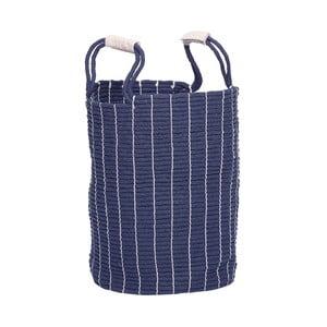 Niebieski kosz na pranie Hübsch Poul