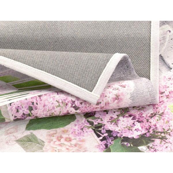 Wytrzymały dywan kuchenny Webtapetti Birdcage, 60x115 cm