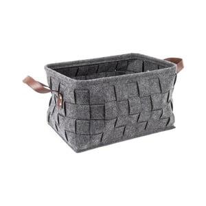 Szary koszyk PT LIVING Storage, dł. 38 cm