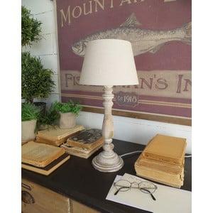 Beżowa lampa stołowa Orchidea Milano Antique, 45 cm