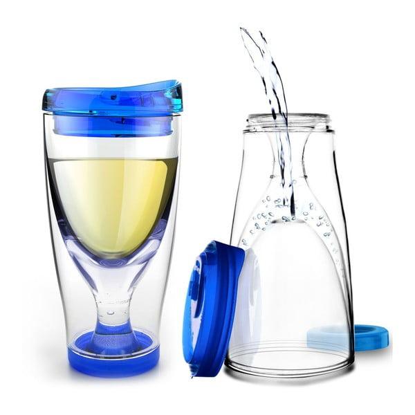 Termos Ice Vino 2GO, niebieski
