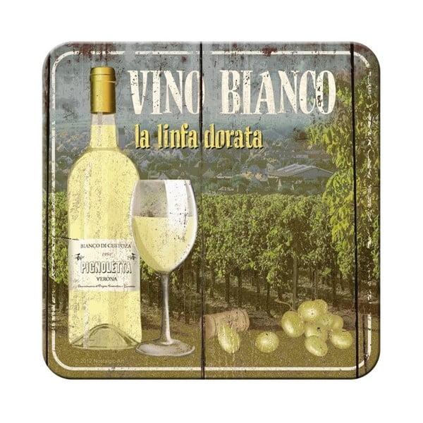 Zestaw 5 podstawek Vino Bianco