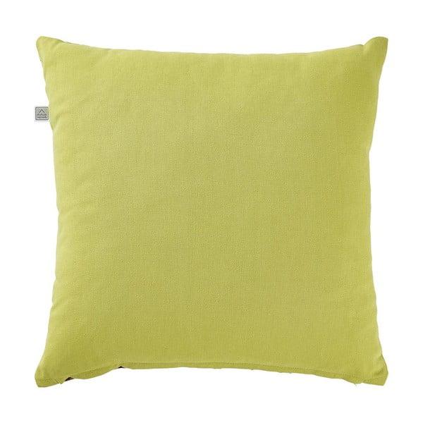 Poduszka z wypełnieniem Angelos Lime, 45x45 cm