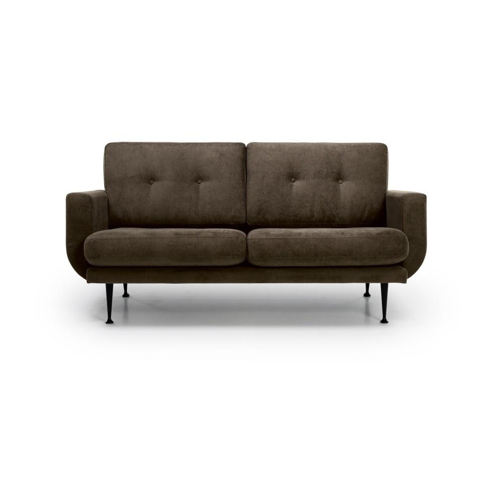 Brązowa sofa 2-osobowa Softnord Fly