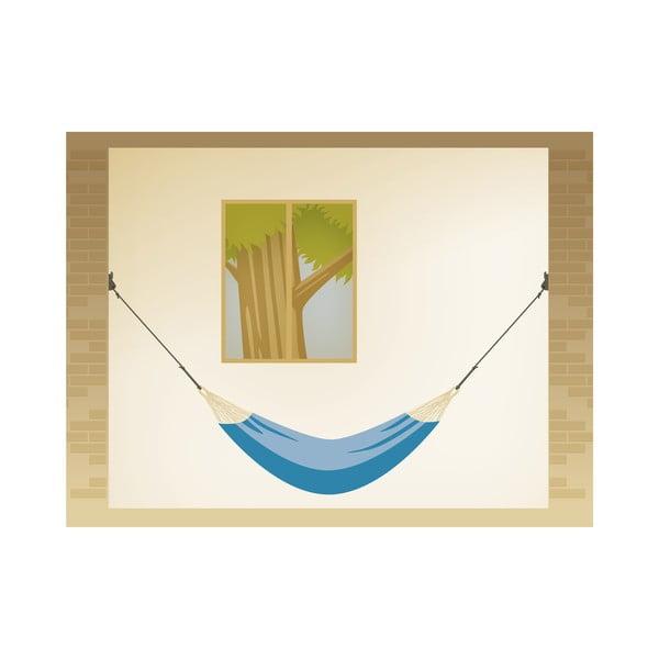 System na powieszenie hamaka między ścianami