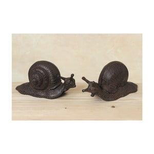Zestaw 2 dekoracyjnych ślimaków Snail