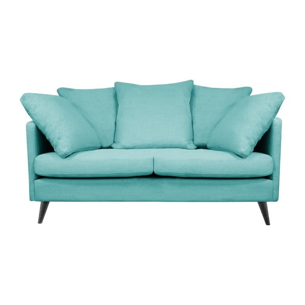 Niebieska sofa 2-osobowa Helga Interiors Victoria