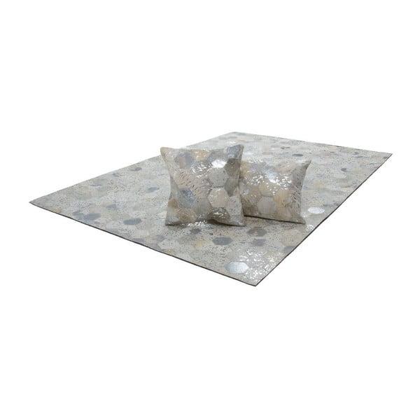 Dywan skórzany Dazzle 400 Light, 120x170 cm