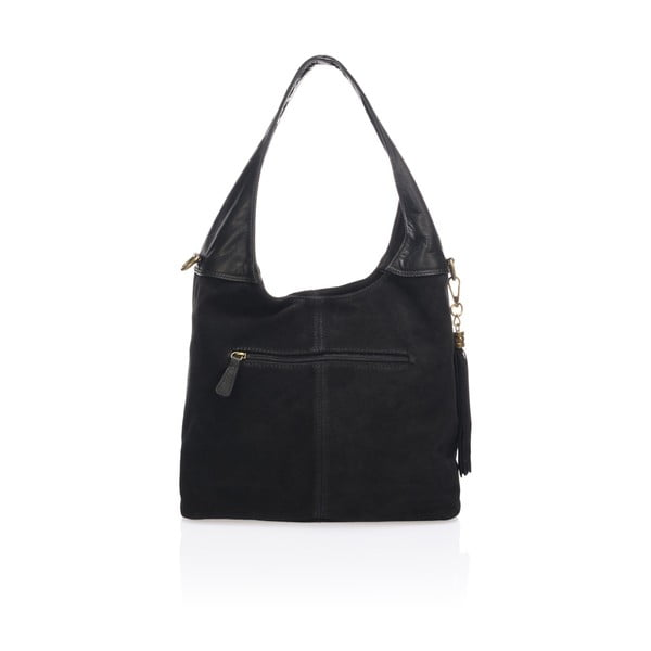 Czarna torebka skórzana Lisa Minardi Eleanora