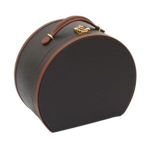 Brązowy kuferek na kosmetyki Friedrich Lederwaren Ascot