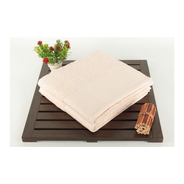 Zestaw 2 pudrowych ręczników Patricia Powder, 50x90cm