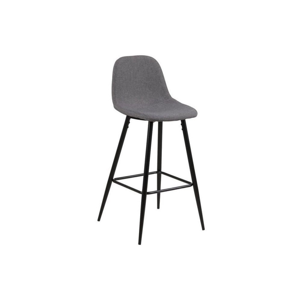 Komplet 2 jasnoszarych krzeseł Actona Wilma