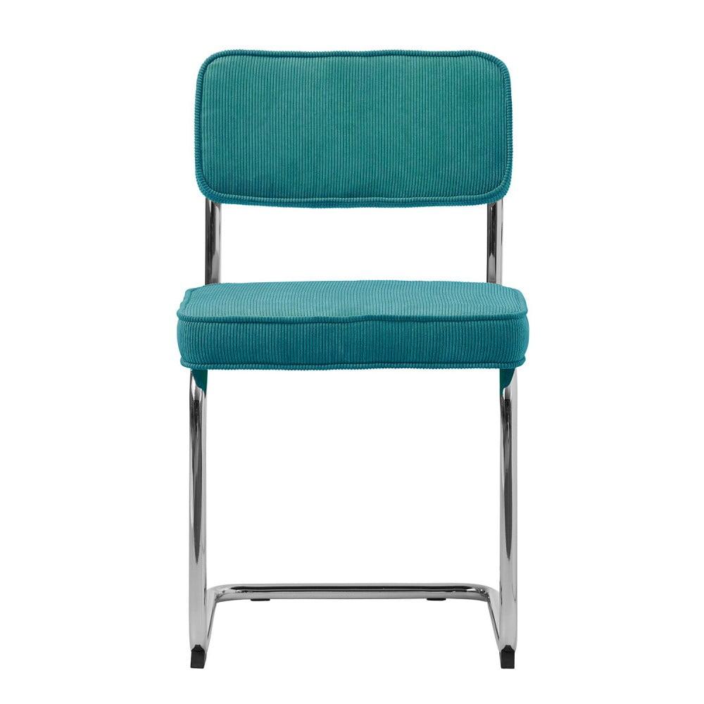 Niebieskie krzesło Unique Furniture Rupert Bauhaus
