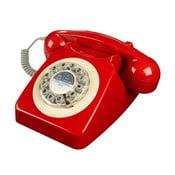 Telefon stacjonarny w stylu retro Serie 746 Red