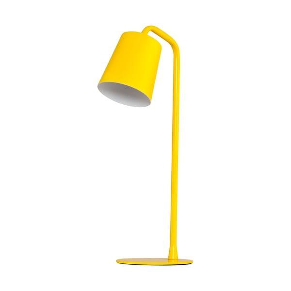 Lampa stołowa Elias, żółta