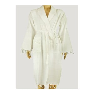 Biały szlafrok damski Hammam Clasic Style