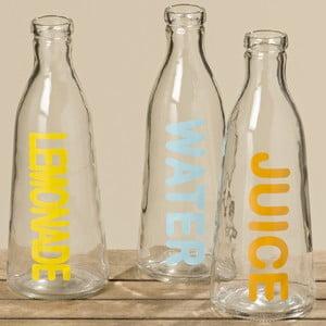 Zestaw 3 butelek szklanych Boltze Drink