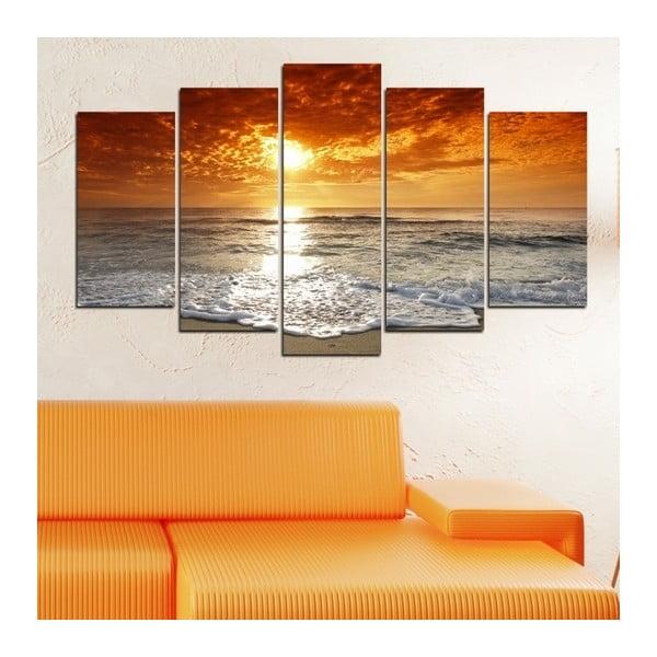 5-częściowy obraz Nad morzem