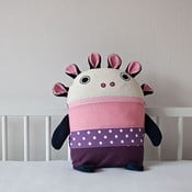 Piżamożerca, fioletowo-różowy, duży