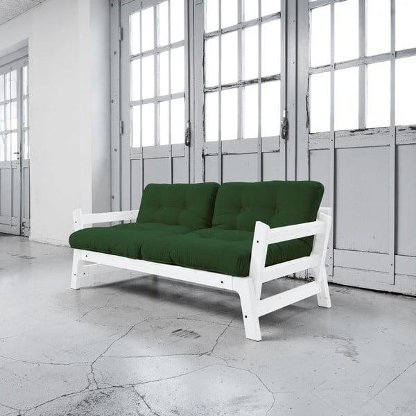 Sofa rozkładana Karup Step White/Botella