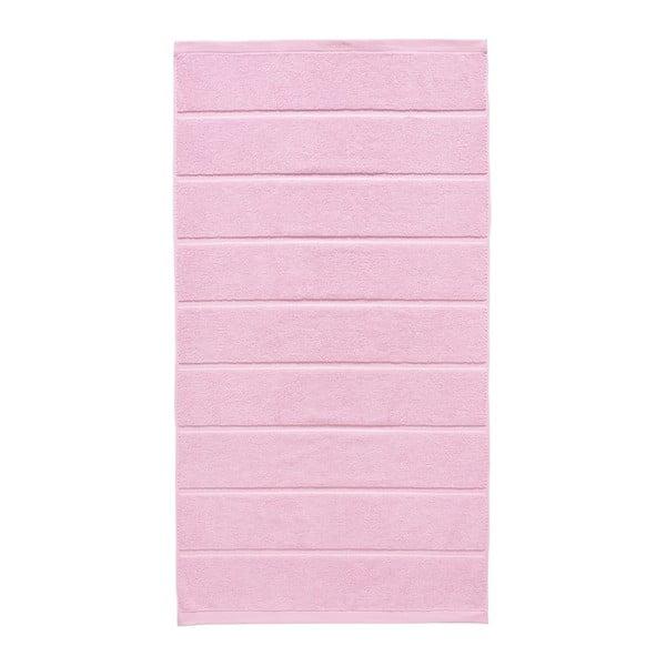 Różowy ręcznik Aquanova Adagio, 70x130cm