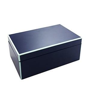 Niebieske pudełko a'miou home Secreta, wys.8cm