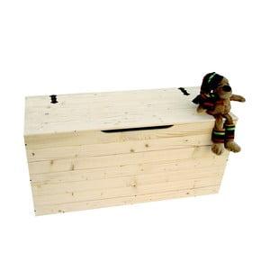 Skrzynka drewniana Settle, 100 cm