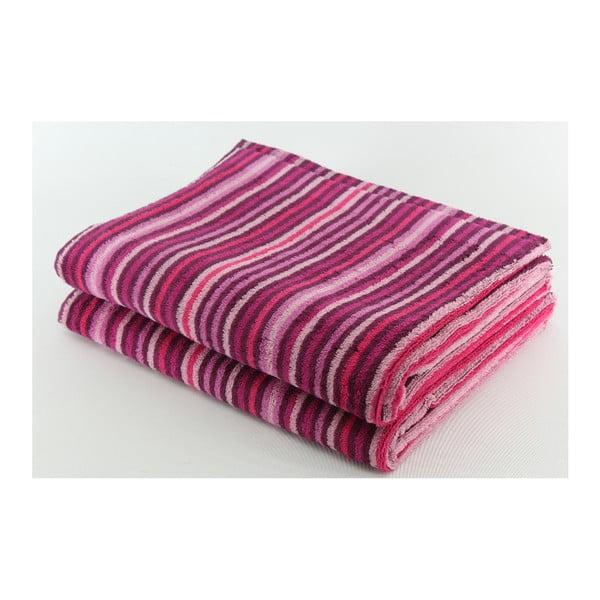 Zestaw 2 ręczników  Collette Casis, 70x140 cm