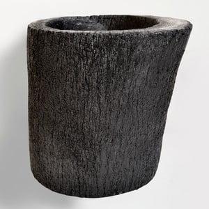 Palmowa donica Burned, 26 cm
