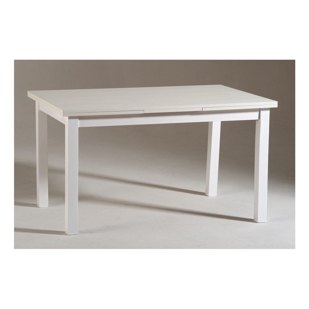 Nowość Biały drewniany stół rozkładany Castagnetti Wyatt, 120 cm   Bonami SF84