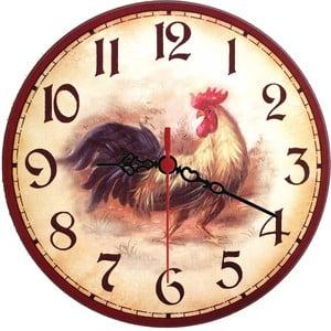 Zegar ścienny Rooster, 30 cm