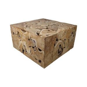 Stolik z drewna tekowego HSM Collection Mona