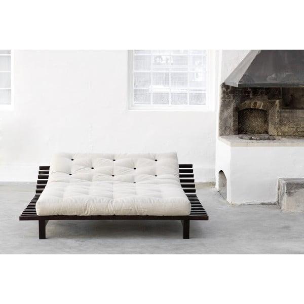 Łóżko Karup Blues Wenge, 140x200 cm