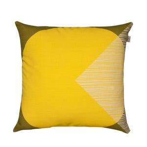 Żółta poduszka Orla Kiely OK Cushion, 45x45 cm