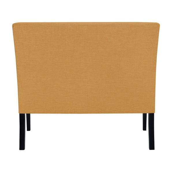 Żółta ławka BSL Concept Rodo