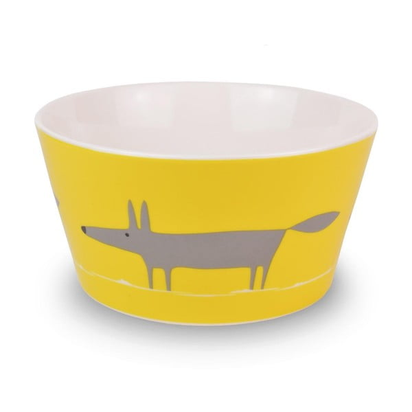 Miska MAKE International Mr. Fox Charcoal/Yellow