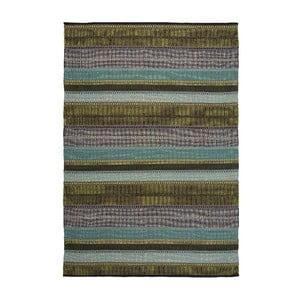 Bawełniany dywan Ida Green, 170x240 cm