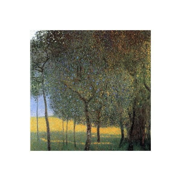Reprodukcja obrazu Gustava Klimta – Fruit Trees, 45x45 cm