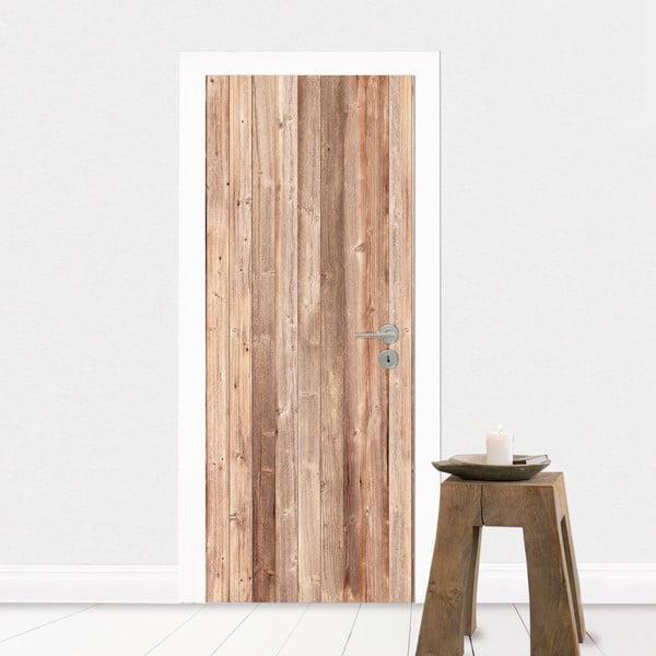 Naklejka na drzwi Drewno