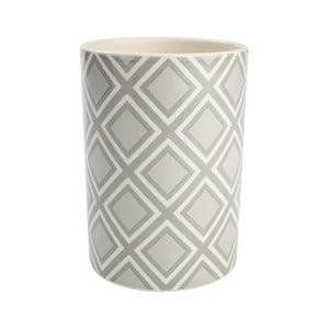 Szary pojemnik ceramiczny na przybory   kuchenne T&G Woodware City
