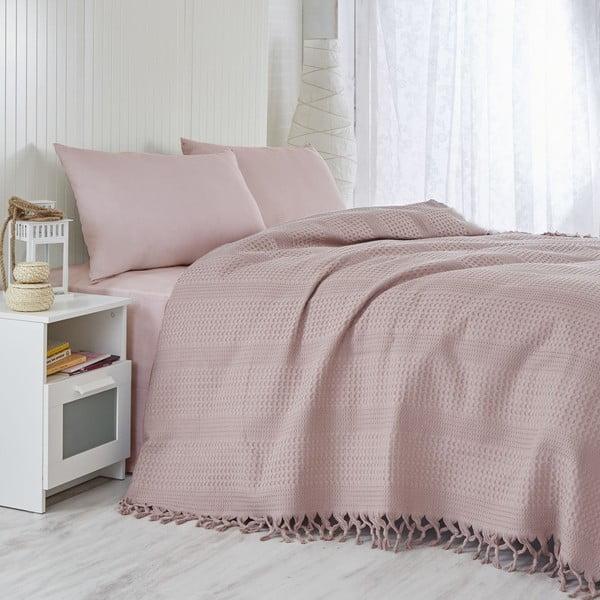 Narzuta na łóżko Lilac, 220x240 cm