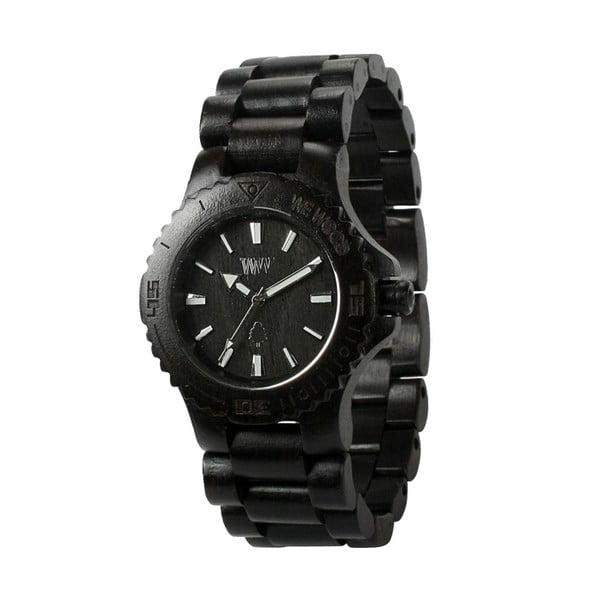 Drewniany zegarek Date Black