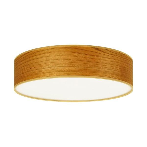 Lampa sufitowa w kolorze drewna wiśniowego Sotto Luce TSURI,Ø40cm
