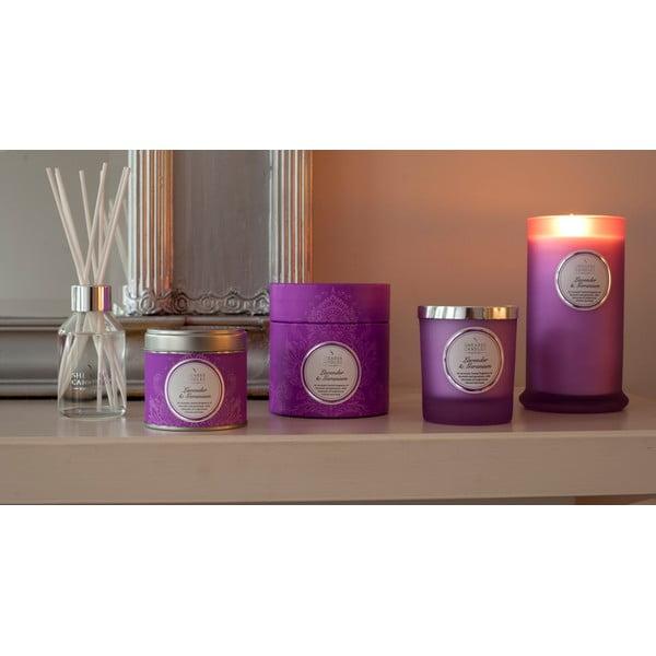 Świeczka zapachowa  Shearer Candle 9 cm, lawenda i pelargonia