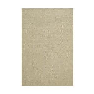Ręcznie tkany dywan Kilim Chevron White/Beige, 98x160 cm