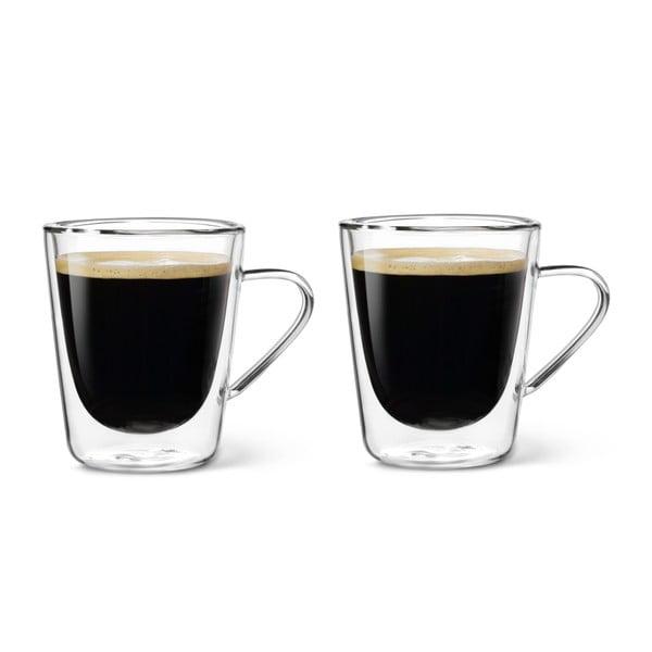 Komplet 2 szklanek z podwójną ścianką Bredemeijer Multiuso, 220 ml